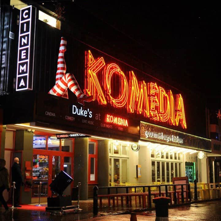 Drink and play at Komedia