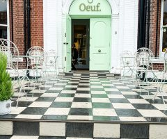 A Beautiful Brunch at Oeuf